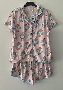 Peter Alexander Women's Winnie The Pooh Shortie PJ Set Size Large RRP$99.95