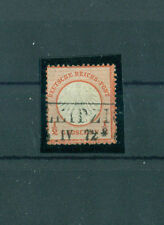Gestempelte Briefmarken aus dem deutschen Reich (1872-1874) mit BPP-Signatur