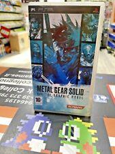 Metal Gear Solid Digital Graphic Novel (LEGGERE!) Ita PSP UMD VIDEO USATO GARANT