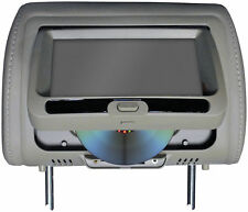 """Tview T737DVPLGR 7"""" In Headrest Monitor With Dvd Player Built In Speakers Remote"""