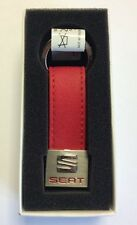 SEAT Key Fob Red And Black Genuine Accessory