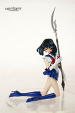 Sailor Saturn Kneeling with Scepter Hand Painted Resin Yetiart Figure Pre-order
