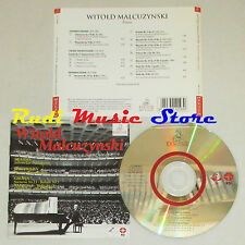 CD WITOLD MALCUZYNSKI Brahms Beethoven Chopin PIANO ERMITAGE 1997 lp mc dvd