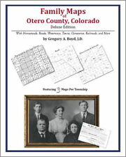 Family Maps Otero County Colorado Genealogy CO Plat