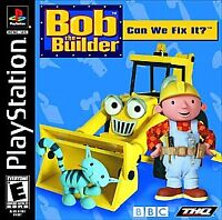 Bob the Builder: Can We Fix It (Sony PlayStation 1, 2001) - PS1 - Complete