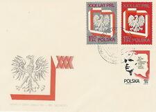 Poland FDC Republic anniversary (Mi. 2324-26) #1