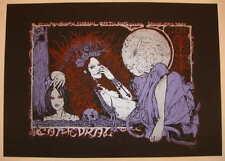 2009 Cathedral - Roadburn Festival Silkscreen Concert Poster by Malleus