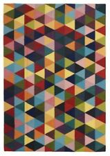 Wool Geometric Shag Rugs