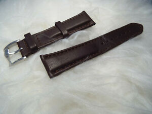 PAUL SMITH LEATHER TWISTED BUCKLE WATCH STRAP   20mm   RRP £60+   FREE SHIPPING