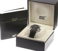 MONTBLANC Meisterstuck 7073 Power reserve Leather Automatic Men's Watch_431316