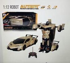1:12 Remote Control Gesture Sensing Deformation Robot Car Transform Robot Toy