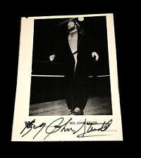 WWE WWF BIG JOHN STUDD HAND SIGNED AUTOGRAPHED 8X10 PROMO PHOTO WITH COA RARE