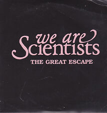 We Are Scientists-The Great Escape Promo cd single