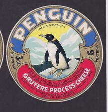 Ancienne  étiquette Fromage Finlande  BN22838 Pingouin 2