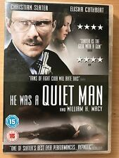 Christian Slater HE WAS A QUIET MAN ~ 2006 Office Worker Psycho Drama | UK DVD