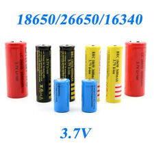 18650 26650 16340 3.7V batería protegida BRC de células de litio recargable de Li-Ion