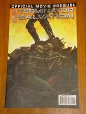 TERMINATOR SALVATION OFFICIAL MOVIE PREQUEL #1 RI COVER 2009 IDW<
