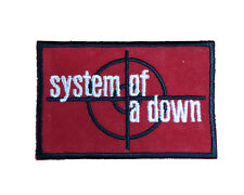 SYSTEM OF A DOWN Embroidered Iron On or Sew On Patch UK SELLER Patches