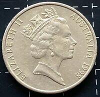 1998 AUSTRALIAN 20 CENT COIN