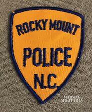 Early, ROCKY MOUNT North Carolina Police Patch (22338)