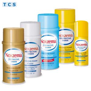 NOXZEMA Shaving Foam, Rasierschaum für häufige Rasur, 5 Sorten