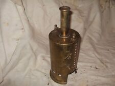 Vintage toy brass steam engine boiler