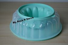 Tupperware Jel-ring Jello Gelating Mold 6Cup Mint New