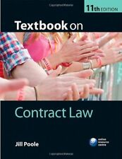 Textbook on Contract Law,Jill Poole- 9780199699469