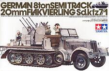 Tamiya USA 1/35 German 8T Half Track Sdkfz 7/1 TAM35050