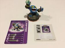 Activision SKYLANDERS GIANTS MAGIC Figure POP FIZZ w/ Card & Sticker Preowned