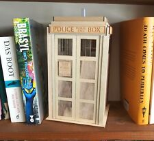 More details for police box tardis style night light lamp dr doctor who 1:10 scale