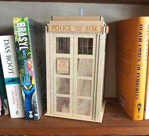 Police Box Tardis Style Night Light Lamp Dr Doctor Who 1:10 scale