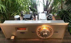 HH Scott 311C  Mono Broadcast Monitor Tube FM Tuner-working