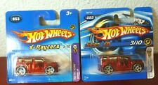 Lot of 2 Short Cards 2005 First Editions HOT WHEELS SCION xB #053