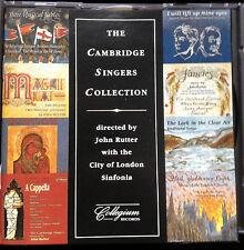 CAMBRIDGE SINGERS COLLECTION John Rutter King's Singers Richard Hickox Collegium