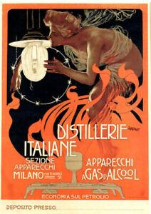 A4 Vintage Nostalgia Advertisements Poster Prints Victorian Art Deco