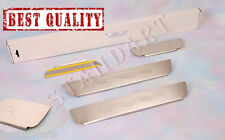 Stainless Steel Door Sill Entry Guard Covers fit Daihatsu Materia 2008-