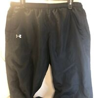 Under Armour Black Athletic Semi Fitted Sweatpants Men's Size Large  RN 96510