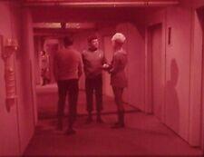 """RARE 1967~STAR TREK """"AMOK TIME""""~KIRK McCOY CHAPEL~35mm FILM CLIP/SLIDE~LOT 268"""