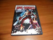 Army of Darkness (DVD, 2009, Screwhead Edition Widescreen) Used Bruce Campbell