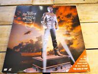 Michael Jackson Video Greatest Hits LASERDISC PAL LD EX cover EX 1995 original