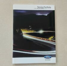 FORD SERVICE BOOK NEW GENUINE COVERS ALL MODELS FIESTA FOCUS MONDEO GALAXY S-MAX