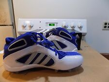 Adidas Defense Lax D Mid ~ Lacrosse/Football Cleats~ SIZE 13  White  ROY BL