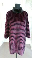 New Mink Jacket Coat Real Fur RRP£700 size M