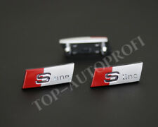 Logo Emblem S-LINE Lenkrad Audi A3 S3 A4 S4 A6 S6 Q3 Q7 TT RS Original