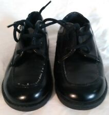 Vintage Michael James Kids Shoes Dress Glossy Black Size 10 Man Made Materials