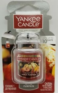 Yankee Candle Car Jar Ultimate Neutralizing Air Freshener APPLE PUMPKIN NEW BOX