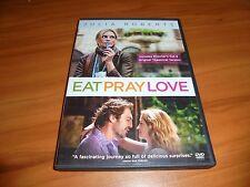 Eat Pray Love (DVD, 2010, Widescreen) James Franco,Julia Roberts Used