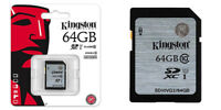 TARJETA MEMORIA KINGSTON SD HC 16 32 64 GB 16GB 32GB 64GB Clase 10 Original