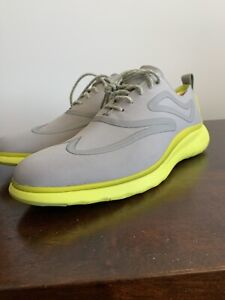 Cole Haan 3.ZERØGRAND Fuse Oxford Wingtip Shoes C32268 8M Grey Ironstone